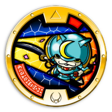 List of yo kai watch medals series 1 by rarity mt wildwood for Porte medaillon yokai watch