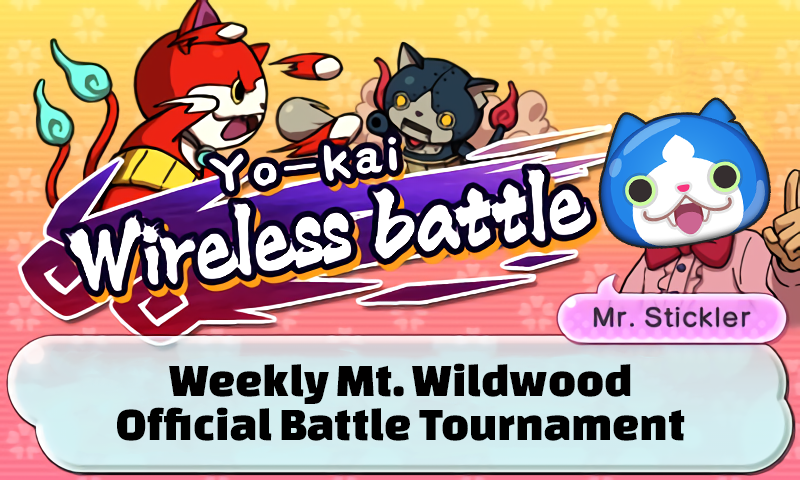 Yo-kai Watch 2 Halloween Tournament