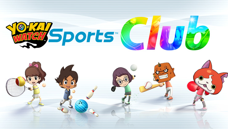 Yo-kai Watch 2 Sports Club