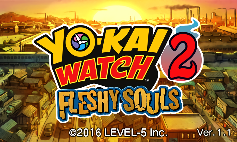 Yo-kai Watch 2 Ver 1.1 Update