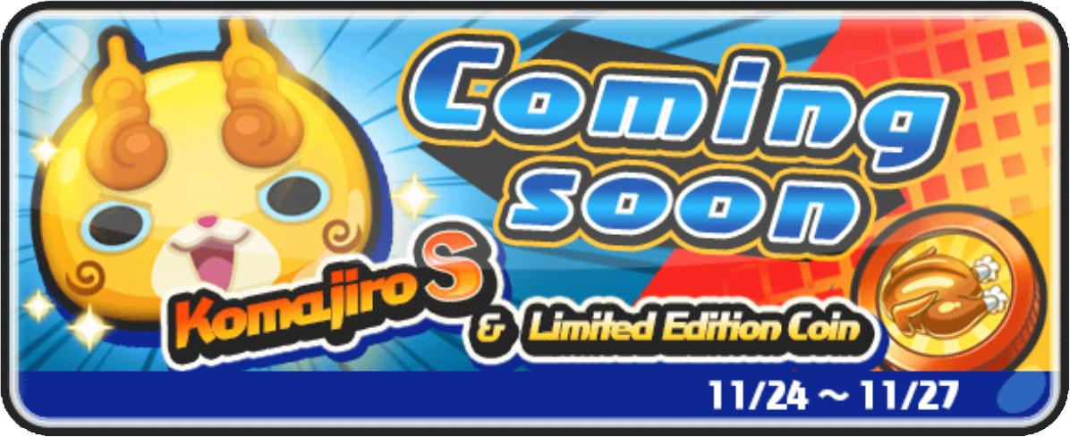 Yo-kai Watch 3 Thanksgiving Event