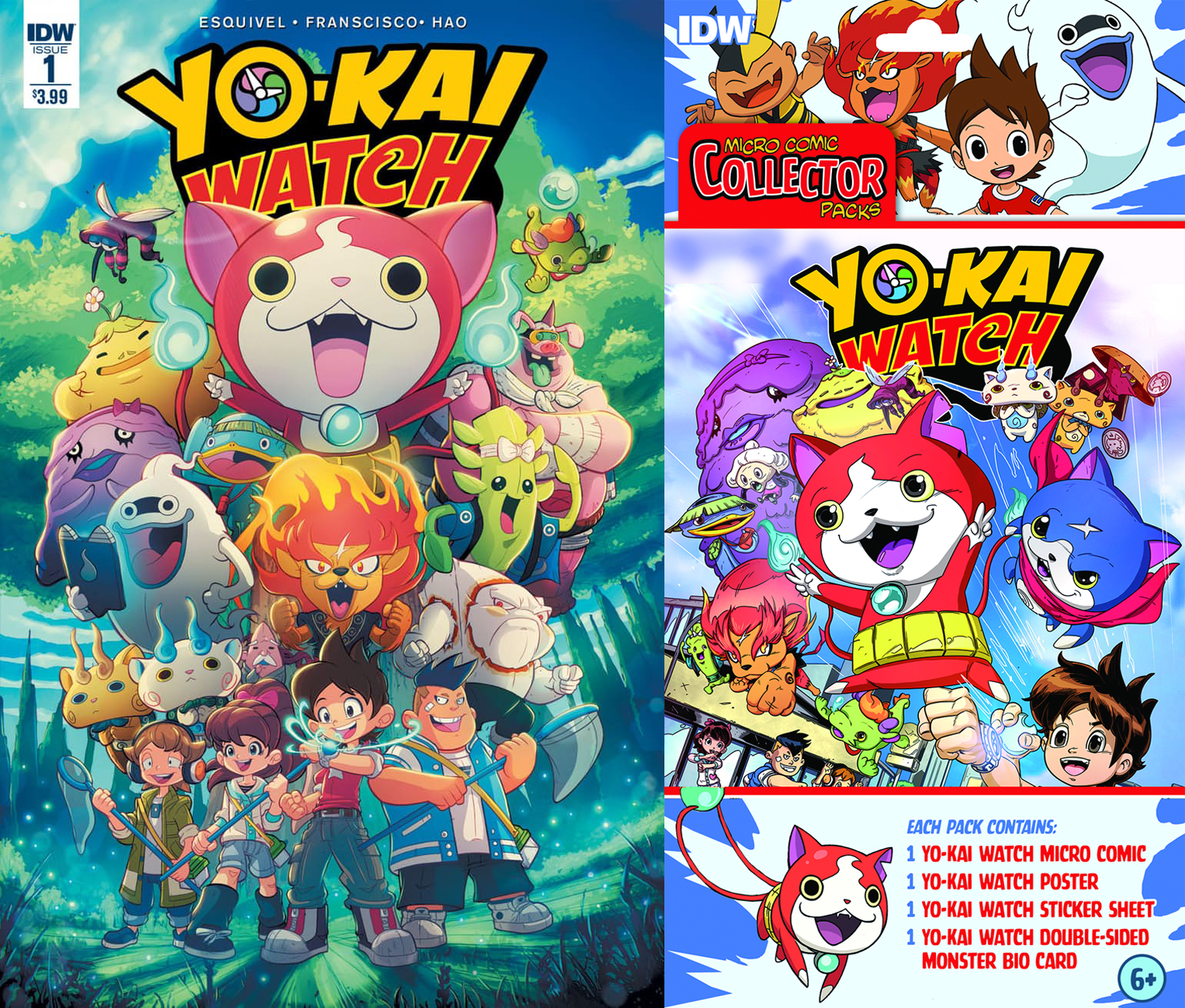 Yo-kai Watch Comic IDW