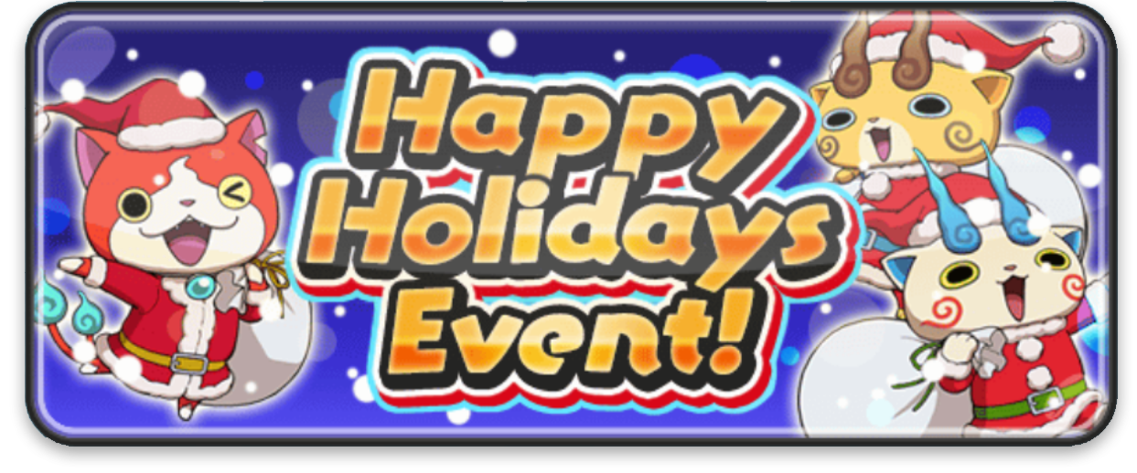 Yo-kai Watch Wib Wob Happy Holidays Event
