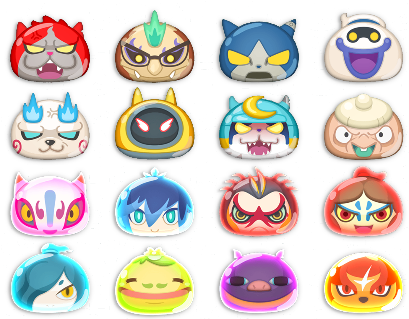 Yo-kai Watch SS-Ranks