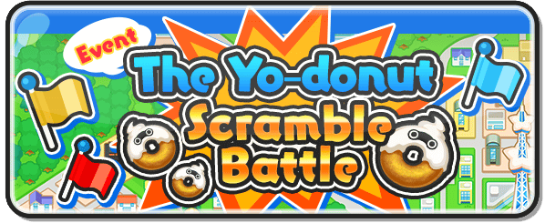 Yo-donut Scramble Battle