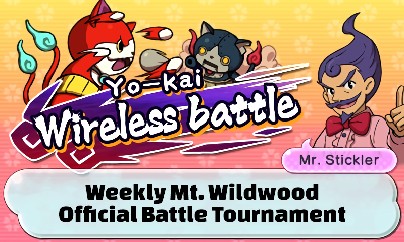 Yo-kai Watch 2 Tournament