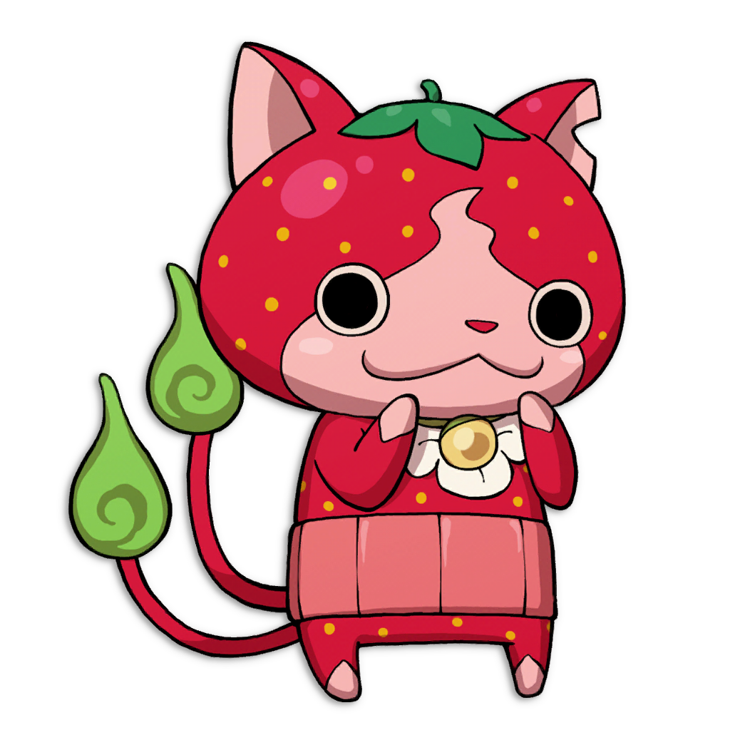 Yo kai strawbnyan mt wildwood for Chambre yo kai watch